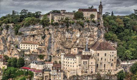 Panorama de Rocamadour (Lot)
